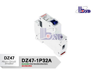 Reliable Performance Motor Protection Circuit Breaker  / C Curve Circuit Breaker