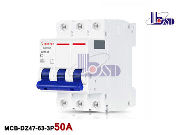 Industrial Overload  50amp Three Pole Circuit Breaker  Motor Starting Applications